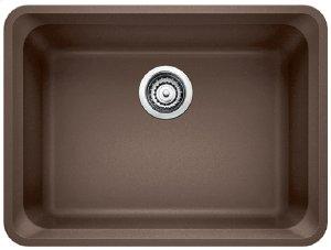 Blanco Vision Single Bowl - Café Brown