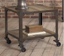 HOT BUY CLEARANCE!!! Square End Table w/Casters