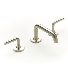 Widespread Lavatory Faucet River (series 17) Satin Nickel