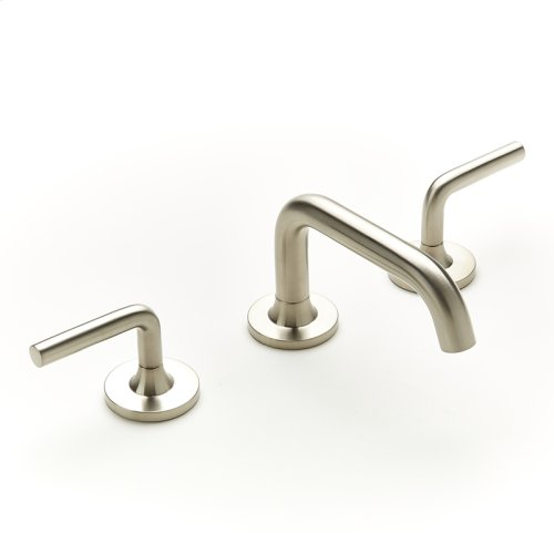 Widespread Lavatory Faucet Taos Series 17 Satin Nickel