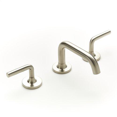 Widespread Lavatory Faucet Taos Series 17 Satin Nickel