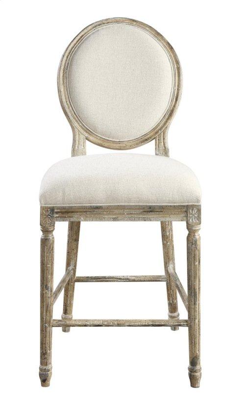 Emerald Home Interlude Barstool W/upholstered Seat & Back Sandstone D560-24