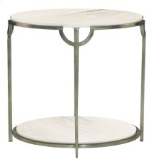 Morello Oval End Table
