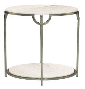 Morello Oval End Table