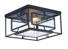 Era 2-Light Ceiling Lamp w/Bulbs