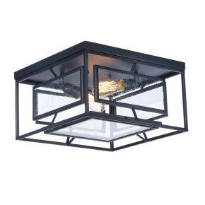 Era 2-Light Ceiling Lamp w/Bulbs