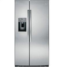 Floor Model - GE® ENERGY STAR® 25.3 Cu. Ft. Side-By-Side Refrigerator