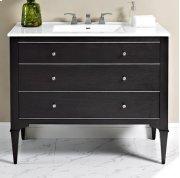 "Charlottesville w/Nickel 42"" Vanity - Vintage Black Product Image"