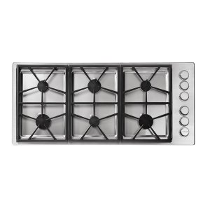 "DacorHeritage 46"" Professional Gas Cooktop, Liquid Propane/High Altitude"
