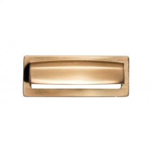 Hollin Cup Pull 3 3/4 Inch - Honey Bronze