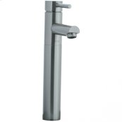 Techno - Single Handle High Profile Lavatory Faucet (for vessel bowls) - Polished Chrome