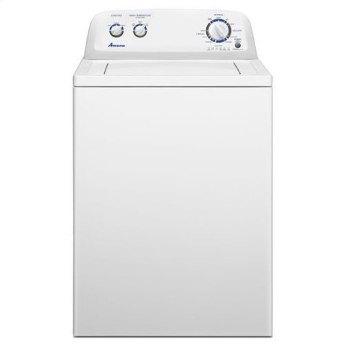 3.4 cu. ft. Top Load Washer with Hand Wash Cycle - white