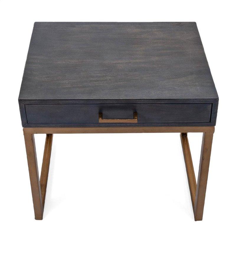 Cash Wood Side Tables Set Of 2