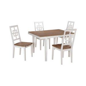 Ashley FurnitureSIGNATURE DESIGN BY ASHLERECT DRM Table Set (5/CN)