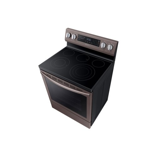 5.9 cu. ft. True Convection Freestanding Electric Range in Tuscan Stainless Steel