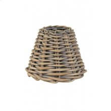 Clipshade 14-7-12 cm ROTAN luxe