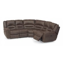 Downtown Fabric Reclining Sectional