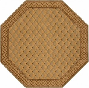 Hard To Find Sizes Cosmopolitan C26f Ltgrn Octagon Rug 7' X 7'