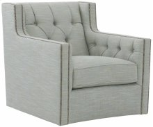 Candace Chair in #44 Antique Nickel