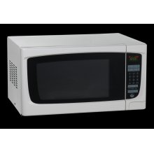 1.4 CF Electronic Microwave with Touch Pad
