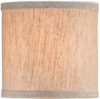 Natural Linen Shade - 5 x 5 x 5