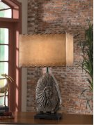 """Indian Chief Table Lamp 30.5""""Ht Product Image"""