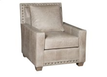 Savannah Leather Chair, Savannah Ottoman