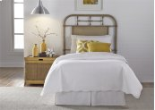 Twin Metal Headboard - Vintage White