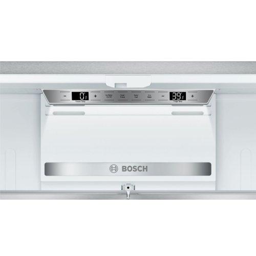 800 Series French Door Bottom Mount Inox-easyclean