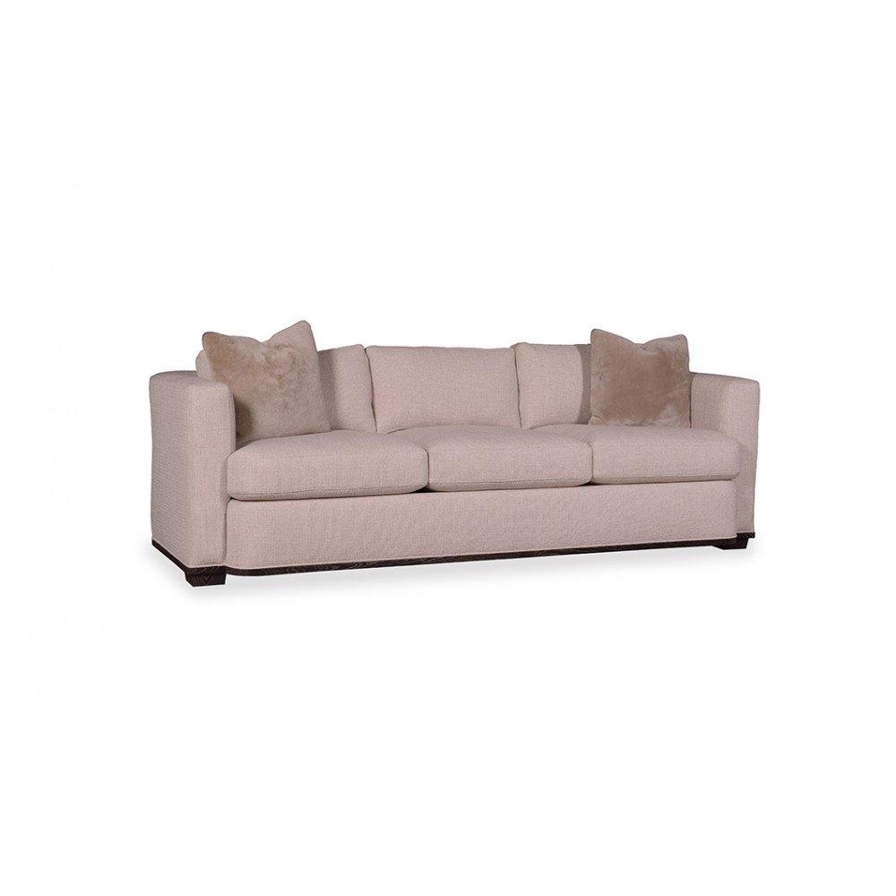Wythe Sandstone Track Arm Three Seat Sofa