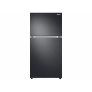 Samsung21 cu. ft. Top Freezer Refrigerator with FlexZone™ and Ice Maker in Black Stainless Steel