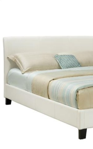 White Uph Headboard, 6/6