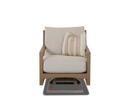 Delray Swivel Rocking Chair
