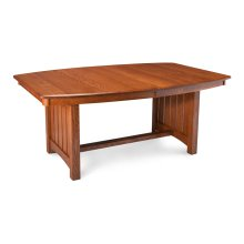Grant Trestle Table, Solid Top