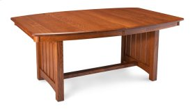 """Grant Trestle Table, Grant Trestle Table, 48""""x96"""", 1-32"""" Stationary Butterfly Leaf"""