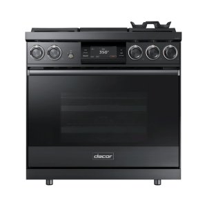 """Dacor36"""" Pro Dual-Fuel Steam Range, Stainless Steel, Natural Gas"""