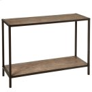 Console Table with Woven Pattern Product Image