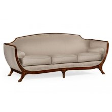Empire Style Sofa (Walnut/MAZO)