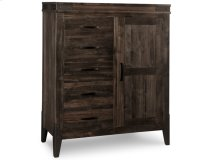 Chattanooga 5 Drawer 1 Door Gentlemans Chest