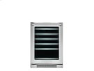 24'' Under-Counter Wine Cooler with Left-Door Swing Product Image