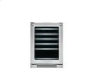 24'' Under-Counter Wine Cooler with Left-Door Swing Product Image