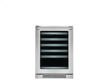 24'' Under-Counter Wine Cooler with Left-Door Swing