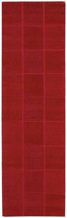 Westport Wp31 Red Runner 2'3'' X 7'6''
