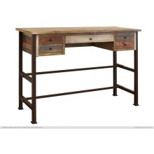 "42"" High Desk w/ 5 Drawer"