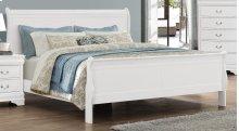 LP Grey Twin Bed