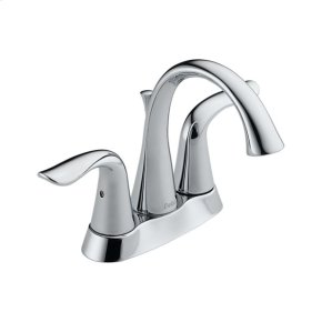 Chrome Two Handle Centerset Lavatory Faucet