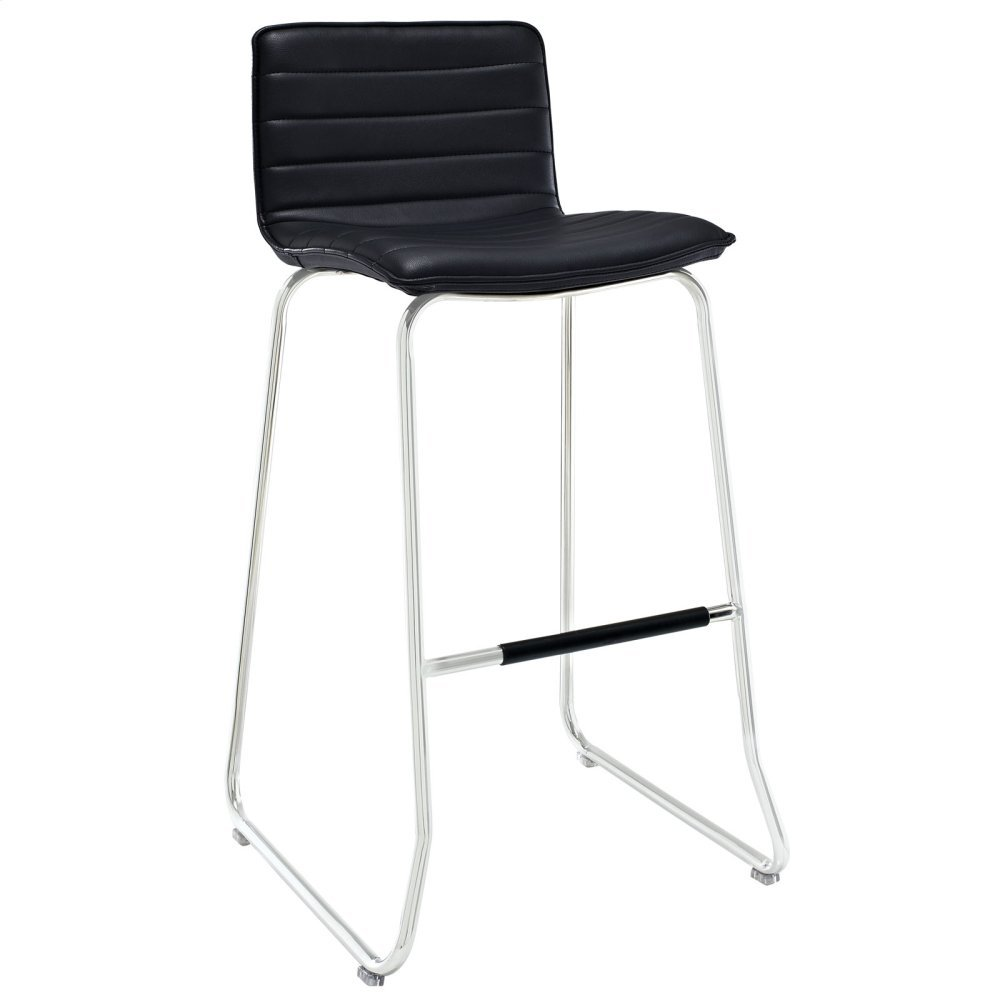 Dive Bar Stool in Black