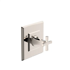 Thermostatic Valve Trim Leyden (series 14) Polished Nickel (1)