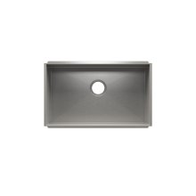 "UrbanEdge® 003611 - undermount stainless steel Kitchen sink , 27"" × 16"" × 8"""
