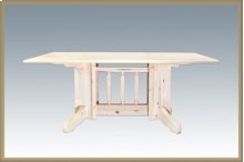 Homestead Double Pedestal Dining Table